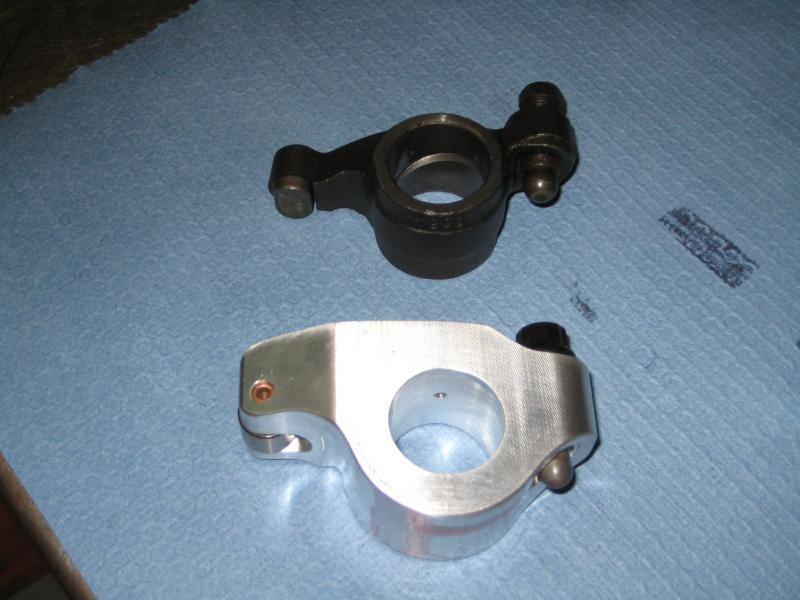 Billet rockers for pullers